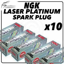 10x NGK SPARK PLUGS Part Number PFR7Q Stock No. 7963 New Platinum SPARKPLUGS
