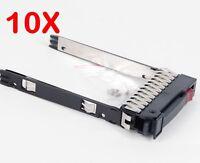 "LOT OF 10, 500223-001 for HP 2.5"" SATA SAS Tray Caddy DL380 DL360 DL580 G6 G7"
