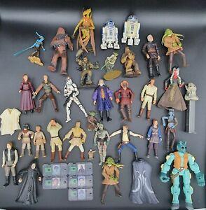 Lot figurines Star Wars vintage LFL kenner hasbro