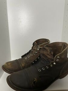Red Wing Iron Ranger 8111 Size 10 - PLEASE READ - NEED Repair