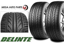 2 X New Delinte Thunder D7 255/35ZR18 94W Ultra High Performance Tires 255/35/18