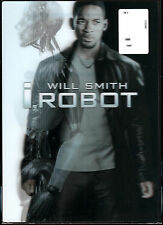 Will Smith I,Robot DVD with Lenticular Slip Cover, New Sealed