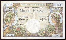 France  1000 Francs  19.12.1940