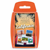 Top Trumps Card Game California