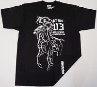 STREETWISE REBELS T-shirt STWS Urban Streetwear Tee Adult Men Black NWT