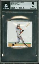 1991 Petro-Canada Standups Ripped Inside Card Will Clark #20 BGS 9 Centering 9.5