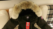 "2018 ""LATEST CONCEPT"" RED LABEL BLACK CANADA GOOSE KENSINGTON XL PARKA JACKET"