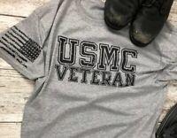 USMC Veteran T Shirt Military themed T-shirt, Marine Corps, DD214