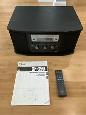 Teac GF-350 Record Player Turntable AM/FM Tuner CD Player/Recorder With Remote