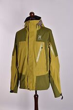 Men's Haglofs Hooded Outdoor Jacket Size XL Genuine Mint
