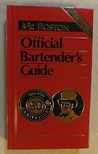 New listing 1984 First Print 50Th Anniversary Edition Mr. Boston Official Bartender Guide
