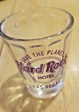 Hard Rock Hotel Las Vegas Save the Planet Shot Glass