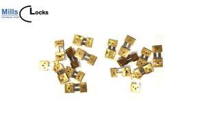 16x Brass Clock Pendulum Suspension Springs, English,German, Repair 16s