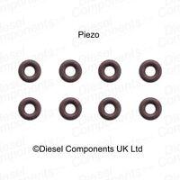 Piezo Injector Leak Off O Ring / Seal for Bosch Piezo Injectors x 8