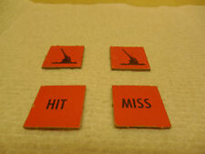 DOGFIGHT GAME PIECES RED SQUARE ANTI-AIR TOKENS  (American Heritage) MB