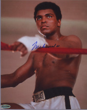 Muhammad Ali Autographed 8x10 Photo COA Signed Hands on Red Rope