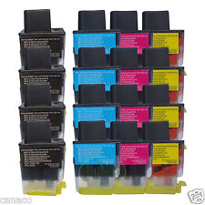 16 Pack LC41 Compatible ink cartridge for Brother MFC-5440CN MFC-5840CN MFC-215C