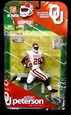 McFarlane NCAA Football Series 1 Oklahoma RB Adrian Peterson Variant Figure 2009
