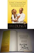 TONY DUNGY & WIFE SIGNED BOOK UNCOMMON MARRIAGE INDIONAPOLIS COLTS W/COA NICE