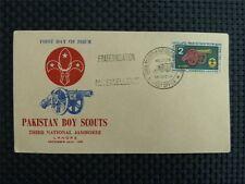 Pakistan 1960 Boy Scouts Scout Jamboree scout Cannone Cannon Cover c2972