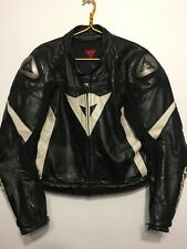 Dainese Assen Perforated Leather Men's Black Jacket Size EUR 58 UK 48