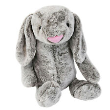 Giant Plush Bunny Teddy Cuddly Super Soft Rabbit Stuffed Toy Grey Easter Gift
