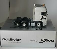 TEKNO 2100TS DAF XF 6x2 Goldhofer Tractor in 1:50 scale