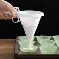 Pancake Cupcake Candy Cream Dispenser Batter Funnel Baking Mold Pastry Tools HOT