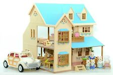 *fistuff* Sylvanian Families Decorated Oakwood Manor House Family Furnished LOTS