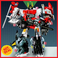 New in Stock Deformabl Superion 6 In 1 Action Figure Kids Toys Transformation