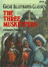 Great Illustrated Classics: The Three Musketeers Hardcover Brand NEW