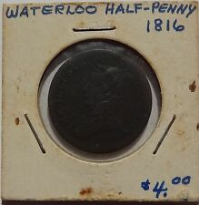 1816 Waterloo half penny