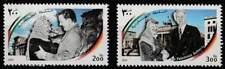 Palestina postfris 2000 MNH 156-157 - Jasir Arafat in Berlijn