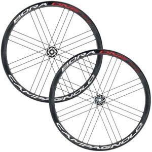 New Campagnolo Bora One 35 DB Carbon Road / Tubular Wheelset / Shimano 11 speed