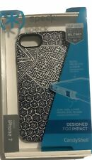 Speck Presidio Inked Case for iPhone 8/7/SE 2nd ShiboriTile Blue/Blue #5757