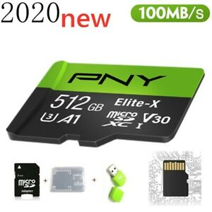 New High Speed 512GB Memory Card USB Micro SD SDHC 10 UHS-1 TF Card Smart Phone