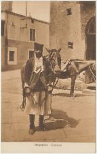 ORGOSOLO - COSTUME - COSTUMI SARDI (NUORO) 1922