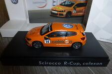 VW VOLKSWAGEN SCIROCCO III R-CUP #14 COLEXON 2011 SPARK 1/43 TIMMY MEGENBIER