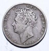 1826 United Kingdom (UK) Six 6 Pence - George IV 3rd reverse - Lot 534