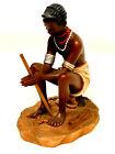 Masai Woman , African art Sculpture. Home Decor. Soil Ceramic. Size-5?-4?