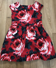 gap girls 6-7 years 50's style dress with pretty flowers new never worn