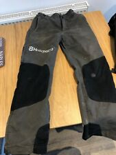 husqvarna chainsaw trousers
