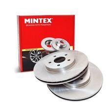 Front Brake Discs x2 305mm Diameter Vented 28mm Thickness - Mintex MDC2341