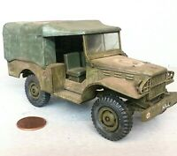1:35 Scale Rough Built for Diorama US WWII Korea WC Truck Ambulance