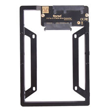 "2.5"" to 3.5"" Internal SSD Hard Drive SATA Drive Converter Bracket Adapter New"