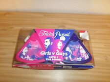 TRIVIAL PURSUIT Game Girls v Guys Edition Bite Size - New Other
