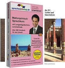 Mallorquinisch - Starter Kit, Sprachkurs für Ihren Urlaub in Mallorca