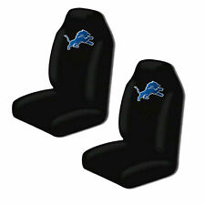 Detroit Lions Car Seat Covers High Back Licensed Pair SUV