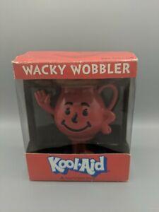 Kool-Aid Funko Wacky Wobbler Bobble Head Nodder Stay Cool Funko Inc. Open Box