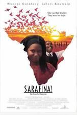 SARAFINA Movie POSTER 27x40 Leleti Khumalo Whoopi Goldberg Miriam Makeba John